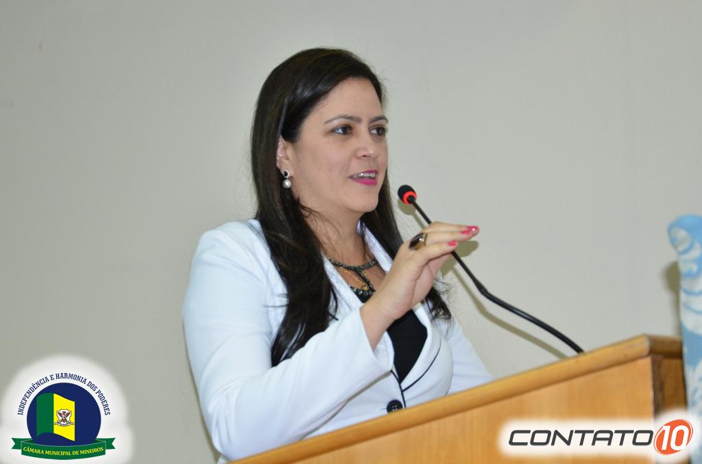 Vereadora Dra Flávia Vilela