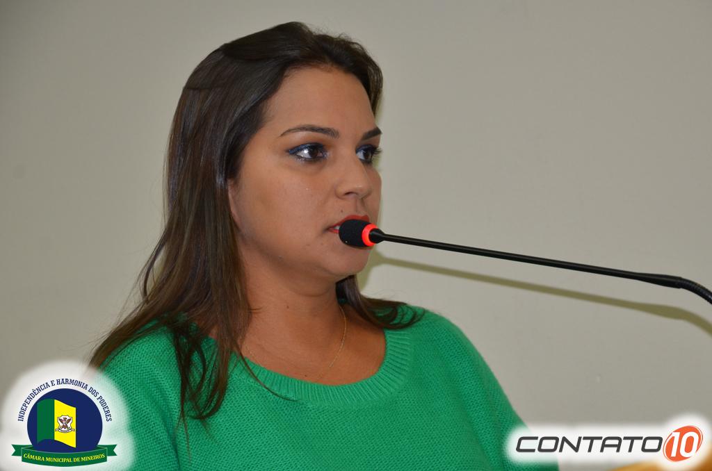 Vereadora Jeane Freitas