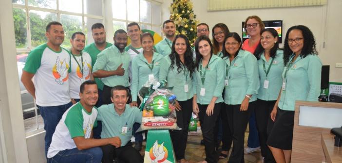 Real Pax encerra em Mineiros a entrega de cestas de Natal