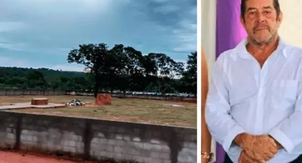 Prefeito morre e 'estreia' nova área de cemitério construída em sua da gestão